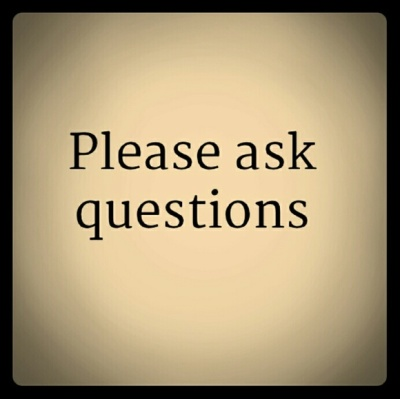 The one question you have to ask....................